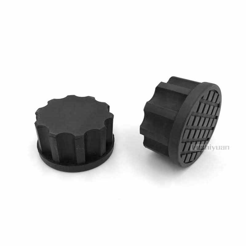 round rubber plugs