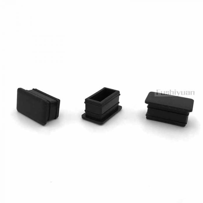 rubber square pipe end cap