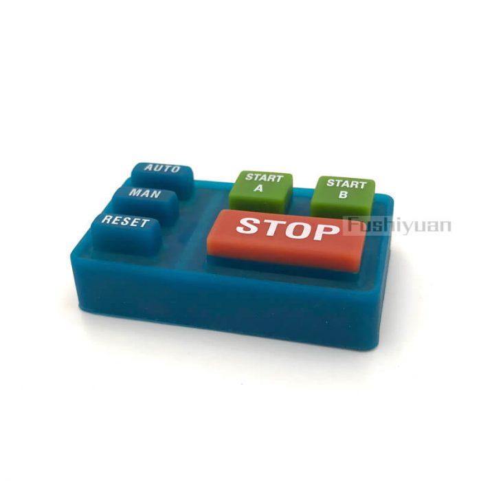 rubber button keypad
