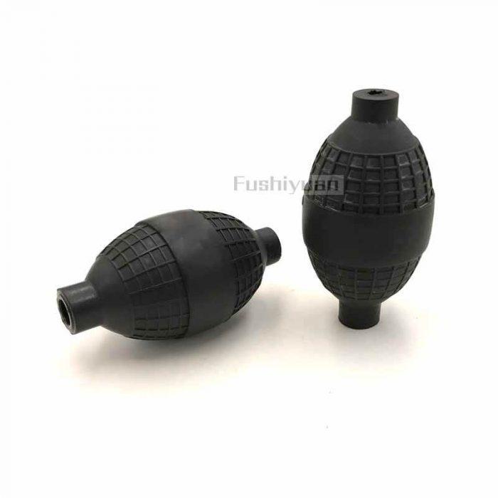 rubber pipette bulb