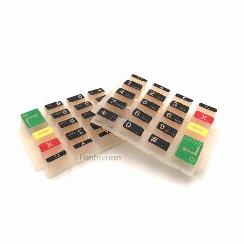 silicone translucent keypad