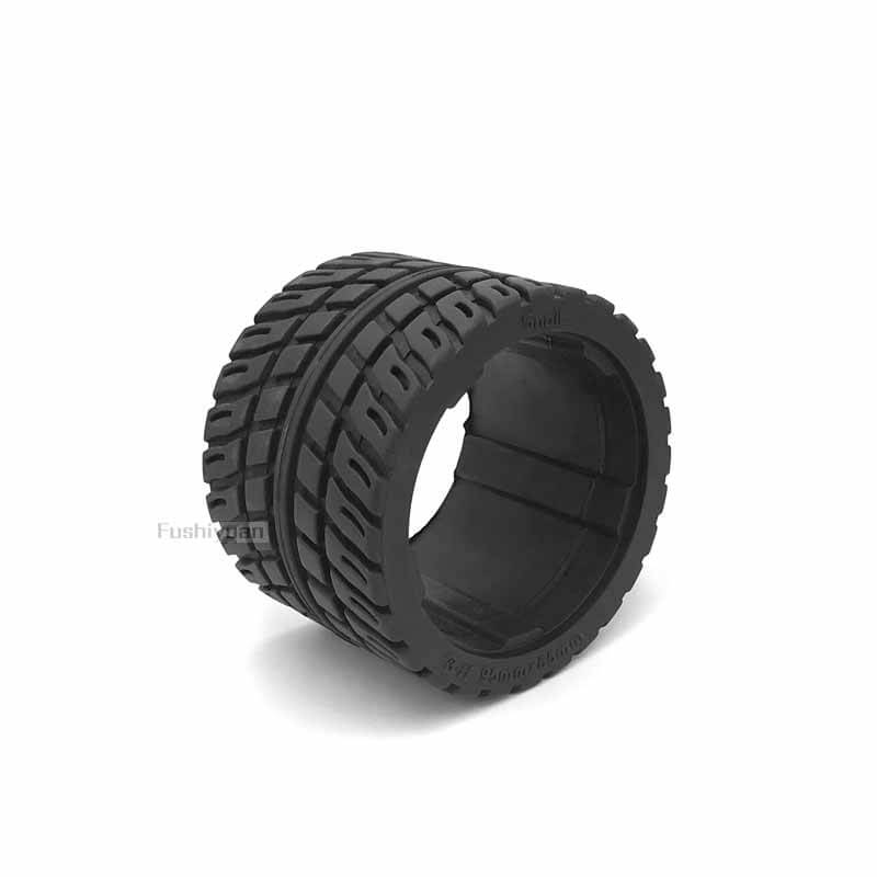 10 inch solid rubber tires