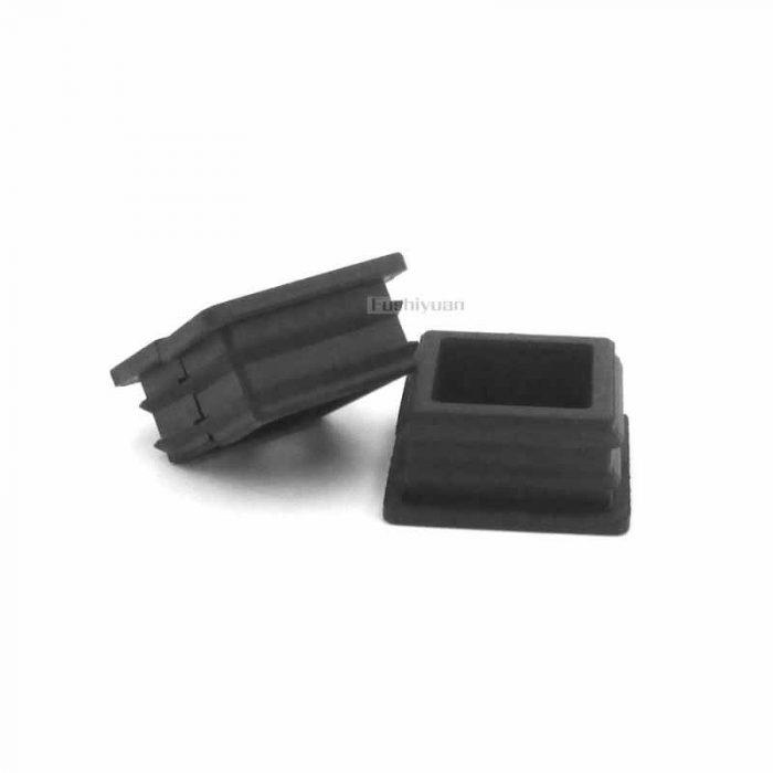 1 inch square tube rubber cap
