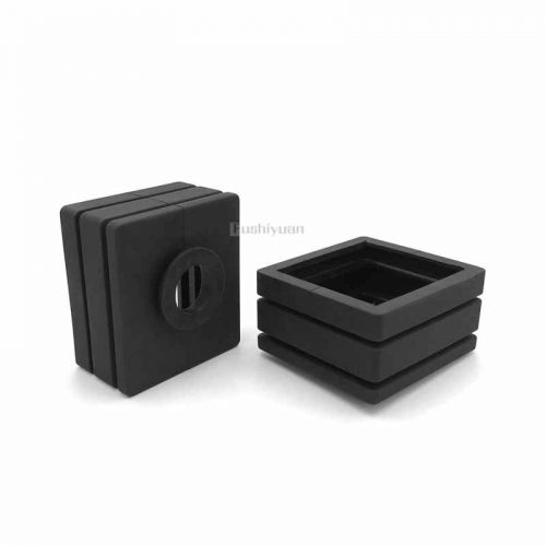 cast iron rubber end cap