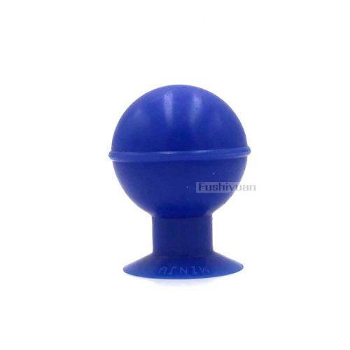 Laboratory rubber suction bulb