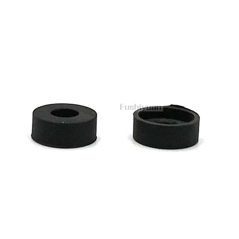 Hose end rubber gasket