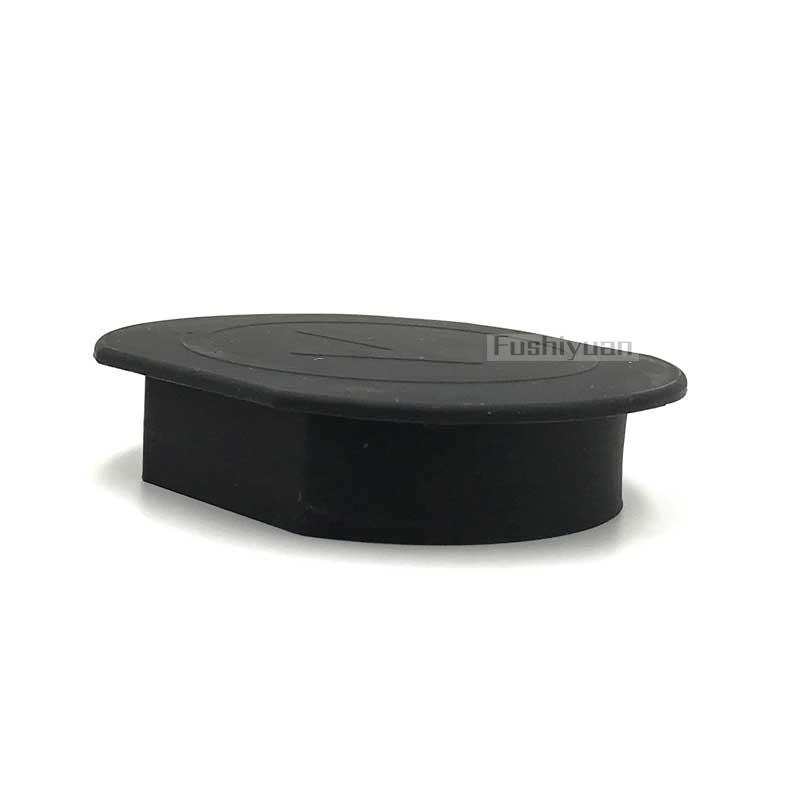 Custom made anti-errorsion rubber end caps